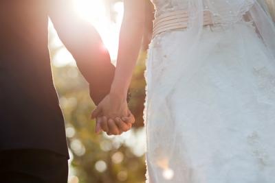 幸運の結婚式**